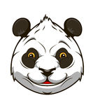 Cartoon panda bear Stock Photography