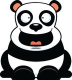 Cartoon Panda Happy Stock Photography