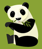Cartoon panda - illustration for the children Royalty Free Stock Photography