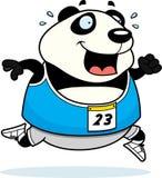Cartoon Panda Running Race Royalty Free Stock Photos