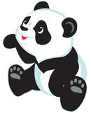 Cartoon panda Stock Image