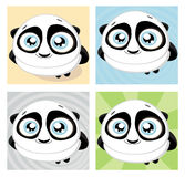 Cartoon panda. Vector Stock Images