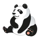 Cartoon Panda Stock Photo