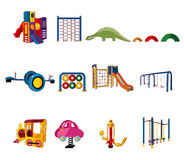 Cartoon park playground icon Royalty Free Stock Images