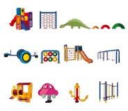 Cartoon park playground icon Royalty Free Stock Images