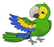 Cartoon Parrot Mascot Royalty Free Stock Images