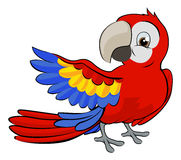 Cartoon Parrot Mascot Royalty Free Stock Images