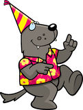 Cartoon Party Animal Royalty Free Stock Images