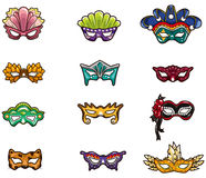 Cartoon party mask icon Royalty Free Stock Photography