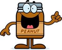 Cartoon Peanut Butter Idea Stock Photography