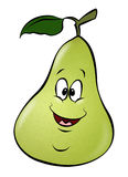 Cartoon Pear Stock Photography