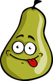 Cartoon Pear Royalty Free Stock Images