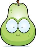 Cartoon Pear Smiling Stock Photos
