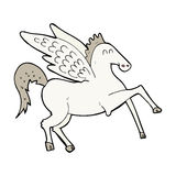 Cartoon pegasus Royalty Free Stock Photo