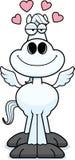 Cartoon Pegasus Love Stock Image