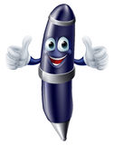 Cartoon pen mascot Stock Photo