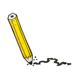 cartoon pencil Royalty Free Stock Photography