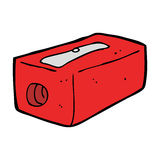 cartoon pencil sharpener Royalty Free Stock Photography
