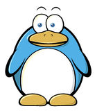 Cartoon penguin Royalty Free Stock Photos