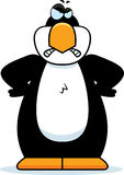 Cartoon Penguin Angry Royalty Free Stock Photo