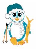 Cartoon penguin. Animal theme illustration vector illustration