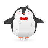 Cartoon penguin character. Funny bird. Stock Photo