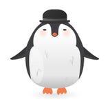 Cartoon penguin character. Funny bird. Stock Photo