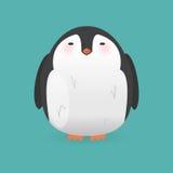Cartoon penguin character. Funny bird. Royalty Free Stock Photo