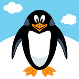 Cartoon penguin Stock Image