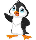 Cartoon penguin royalty free illustration
