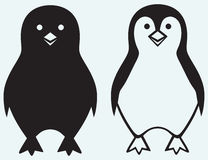 Cartoon penguin Royalty Free Stock Image
