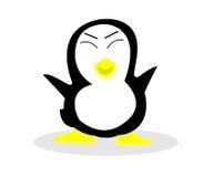 Cartoon a penguin. Cartoon about a little penguin vector illustration