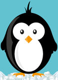 Cartoon penguin Stock Photography