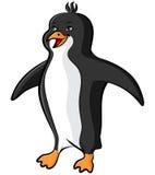 Cartoon penguin Stock Image