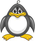 Cartoon penguin 01 Royalty Free Stock Image