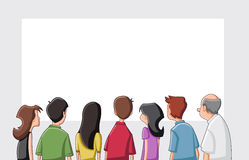 Cartoon people Stock Photography