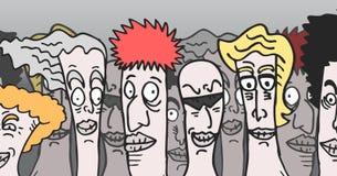 Cartoon people Royalty Free Stock Photo