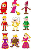 Cartoon people icon Royalty Free Stock Photos