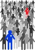 Cartoon people illustration Stock Photography