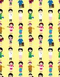 Cartoon people job icon Stock Photo