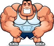 Cartoon Personal Trainer Stock Photo