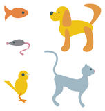 Cartoon Pets Stock Image