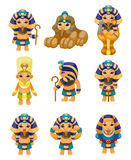 Cartoon pharaoh icon Stock Image