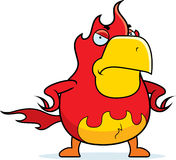 Cartoon Phoenix Angry Royalty Free Stock Photos