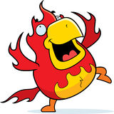 Cartoon Phoenix Dancing Stock Images
