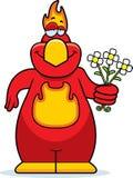 Cartoon Phoenix Flowers Royalty Free Stock Photos