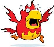 Cartoon Phoenix Panic Royalty Free Stock Photo