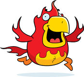 Cartoon Phoenix Running Stock Images