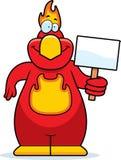 Cartoon Phoenix Sign Stock Images