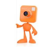Cartoon Photographer Stock Photo